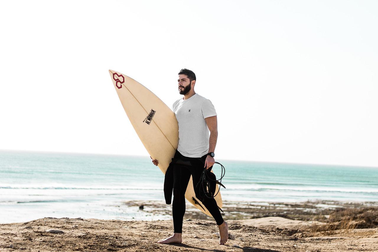 surfer, surf, ocean