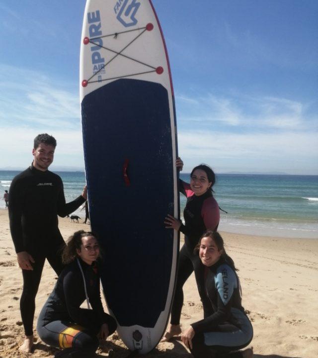 Paddle surf en grupo tarifa